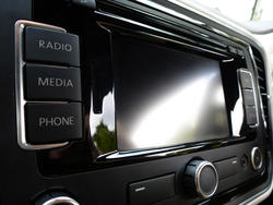 16340   Blank digital car entertainment display
