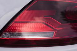 16346   Curved modern car rear light