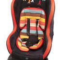11956   Colorful baby car seat for a young child
