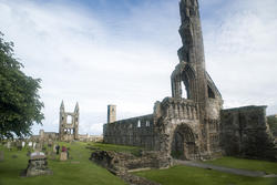 12888   Ruins of St Andrews Cathedral, Scotland