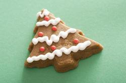 13140   Christmas tree gingerbread cookie