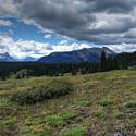 12622   Colorado San Juan Mountain Meadow and Clouds