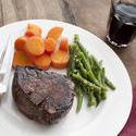 12291   dinner of ribeye steak