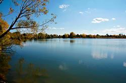 16117   Crown Hill Lake Autumn