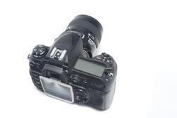 12125   Top rear view of digital camera
