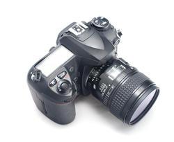 12126   Top down view on digital SLR camera