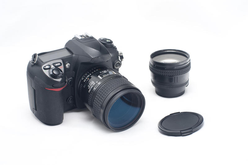 12165   Digital SLR Camera with Lenses and Lens Cap