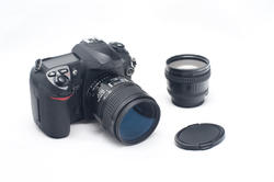 12165   Digital SLR Camera with Lenses and Lens Cap