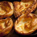 13005   Four fresh Yorkshire puddings