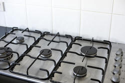 12984   Gas stove with five burner plates