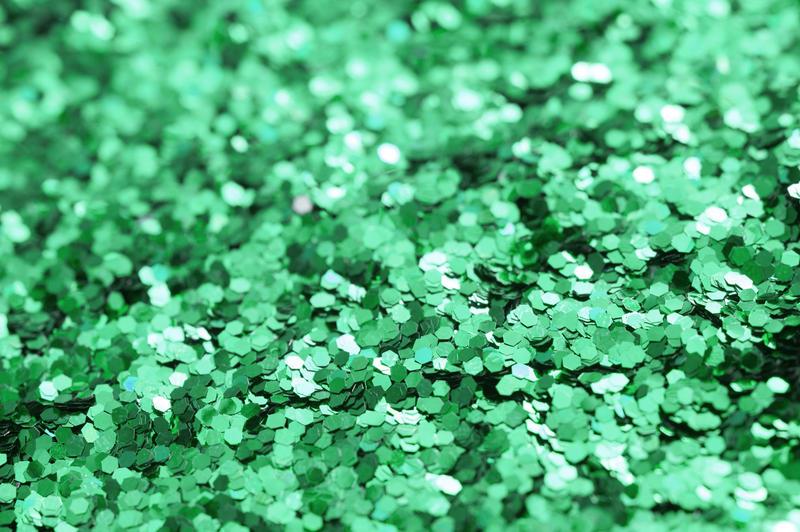 11930   Bright emerald green glitter texture