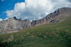 16116   Guanella Pass Mt Bierstadt and Clouds