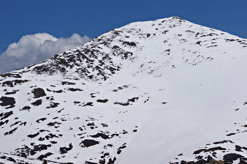<p>This Mountain Peak is visible from the summit of Colorado&#39;s Independence Pass.</p>