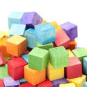 11969   Jumbled Pile of Colorful Wooden Toy Blocks