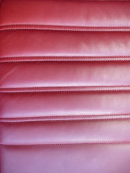 16334   Red leather car upholstery