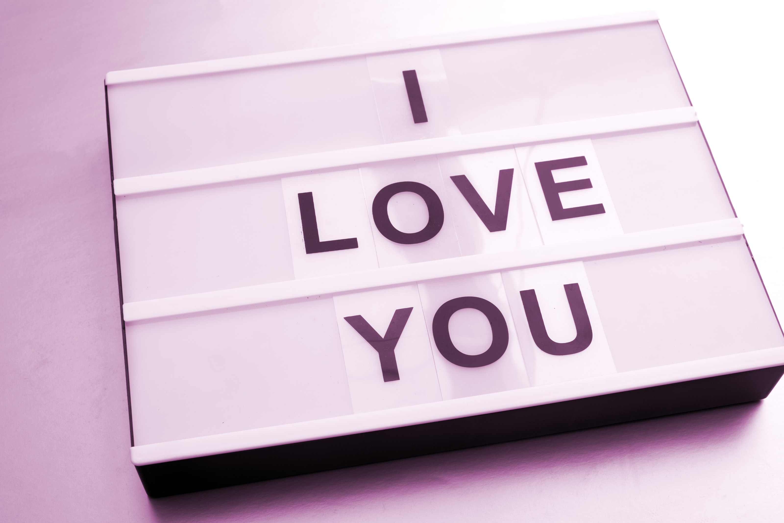 Free Stock Photo 13502 Changeable I Love You sign | freeimageslive