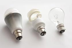 13743   Three generations of light bulbs