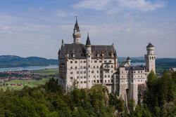 12057   neuschwanstein castle under mild soft sunlight 0