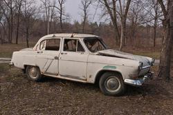 12096   old broken soviet car