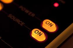 13776   Illuminated orange on off power buttons