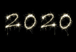 17212   Festive 2020 greeting card background