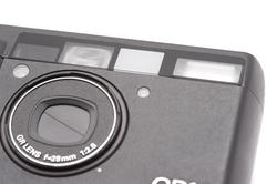 12188   Point and Shoot Camera with Zoom Lens on White