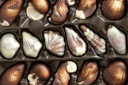 12340   variegated chocolate pralines
