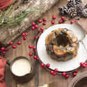 17171   Tasty homemade Christmas plum pudding