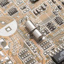 13808   quartz crystal on electronic layout