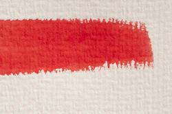 12131   Single red watercolor paint brushstroke