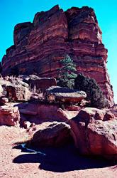 16118   Red Rocks Amphitheatre Ship Rock