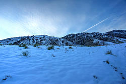 16121   Red Rocks Winter Twilight