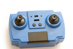 11973   Small blue electronic gaming control for kids