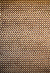 12686   Closely knit rope in straight rows