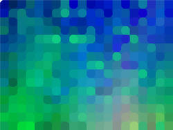 12655   Blue and Green Pixelated Background