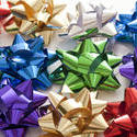 11921   Multiple colorful decorative bows