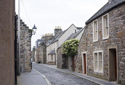 12869   Quaint old stone cottages