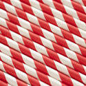 12688   Closely packed red and white straw background