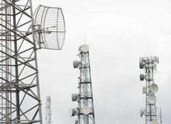 13782   Four telecoms communication masts