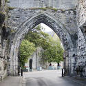 12796   Ancient Gothic arch St Andrews