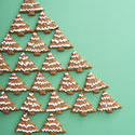 13164   Gingerbread Christmas tree still life