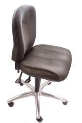 12962   Single arm free typist chair