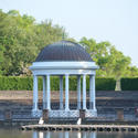 15580   Victorian bandstand by a lake