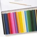 12204   Angled case of sharp colored pencils