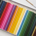 12205   Case of assorted colored pencils and brush