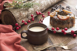 17196   Homemade traditional Christmas pudding