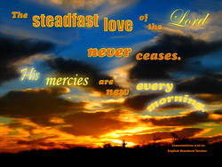 17577   The steadfast Love of the Lord Never Ceases