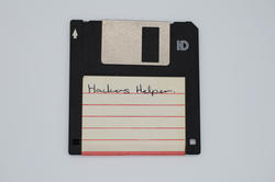 17466   Floppy disk with Hackers Helper