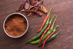 17238   Fresh, dry and powdered chilli peppers
