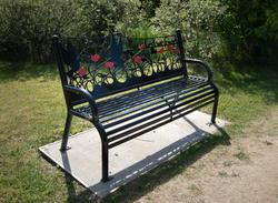 17420   Bench at Fylde Memorial Arboretum